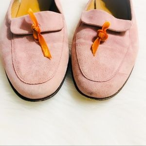 J. Crew Leather Loafers in Blush Pink, Size 8